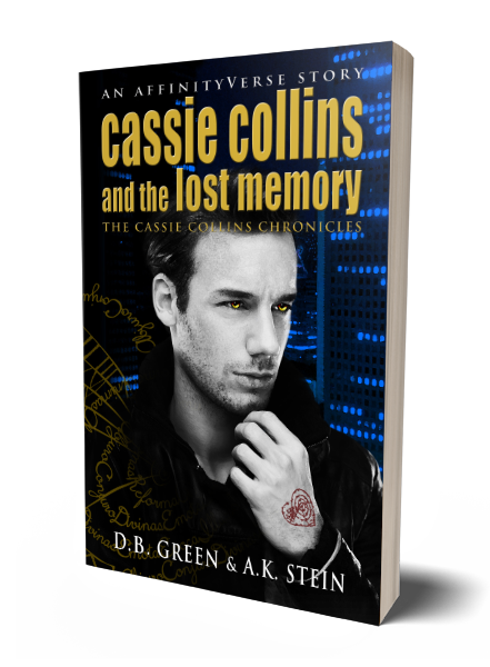 The Cassie Collins Chronicles 2 - Lost Memory 3D Cover (DB Green & AK Stein)